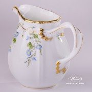 Morning Glory-Nyon NY Milk Jug Herend porcelain