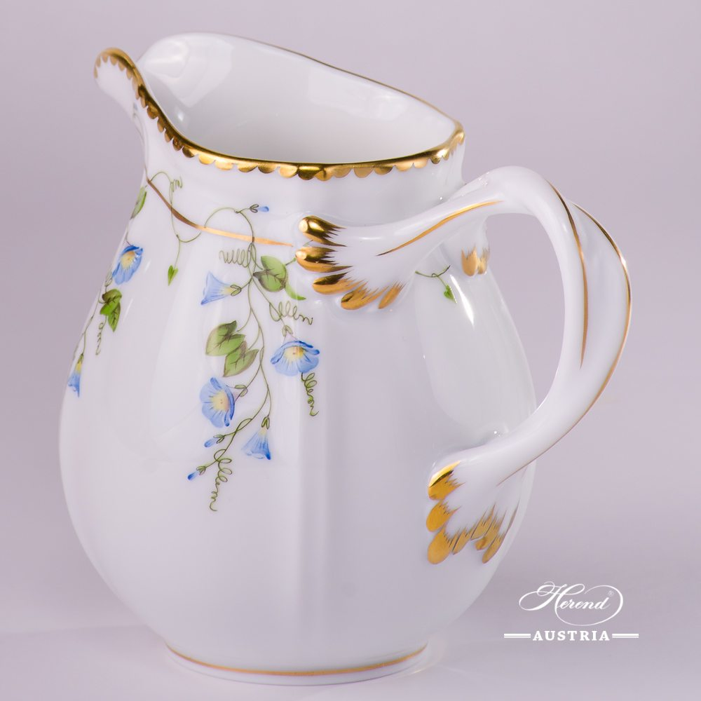 Morning Glory - Nyon Milk Jug - 4245-0-00 NY - Herend Porcelain