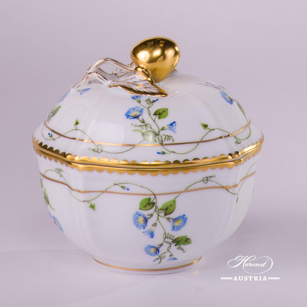 Morning Glory - Nyon Sugar Basin - 4246-0-67 NY - Herend Porcelain