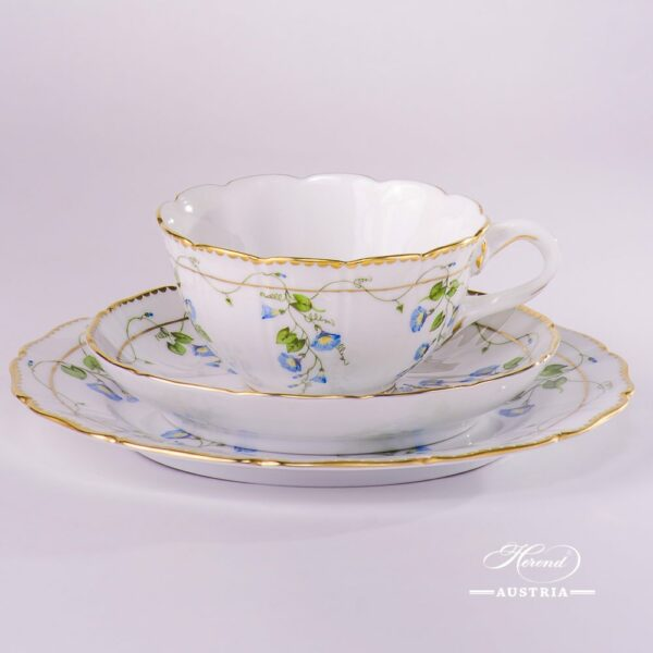 Morning Glory-Nyon NY Tea Cup and Saucer Herend porcelain