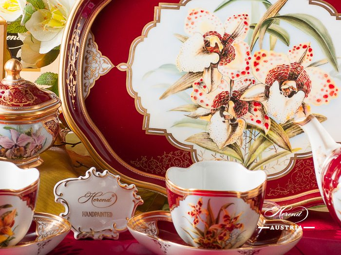 Orchid Herend Tea Set – (Orchidee)
