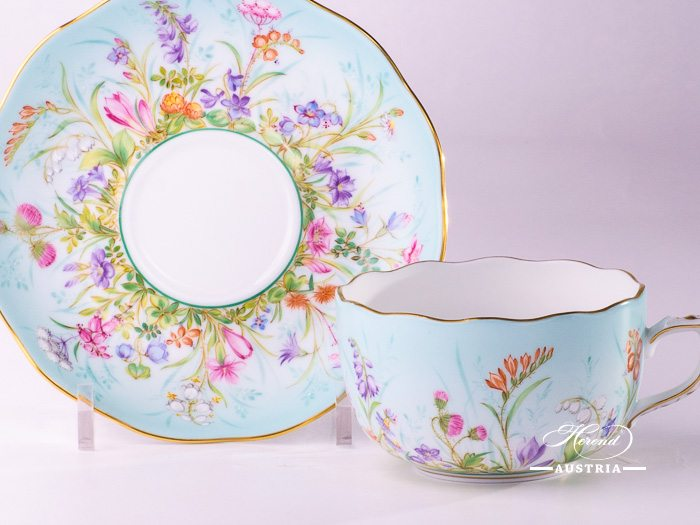 Four Seasons Herend Porcelain Sets – (QS)