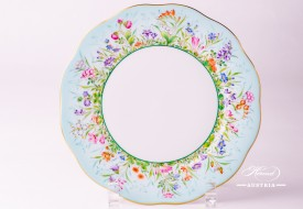 Dessert Plate 20517-0-00 QS Four Seasons pattern. Herend porcelain