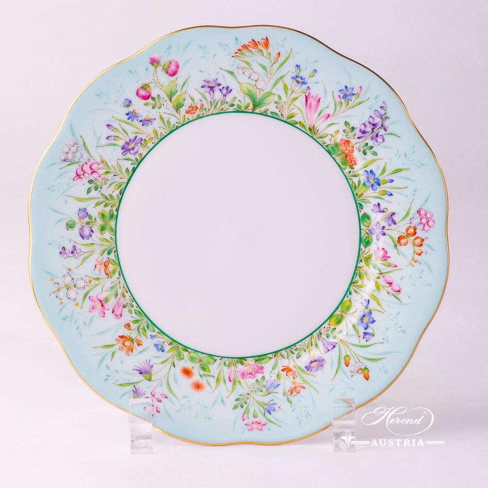 Four Seasons Dessert Plate - 20517-0-00 QS - Herend Porcelain