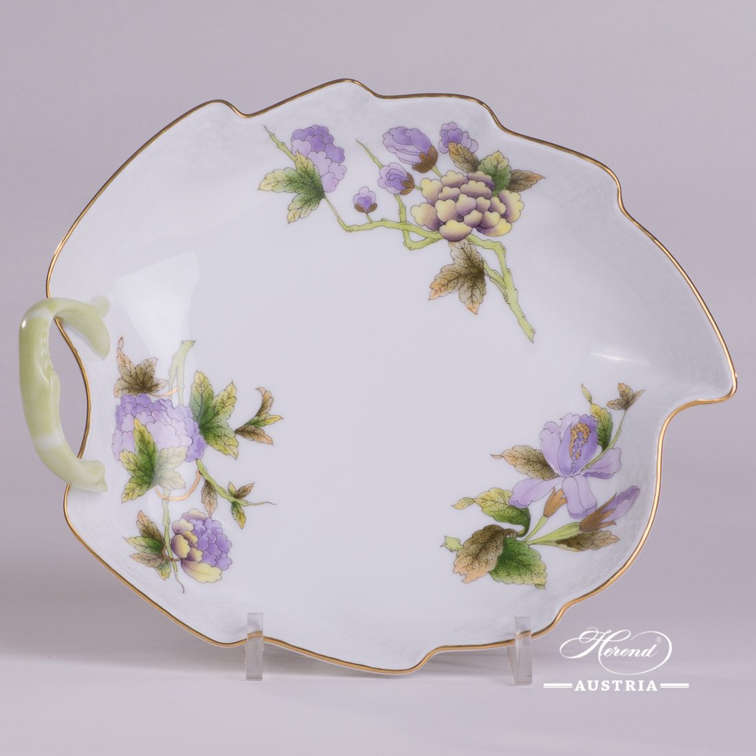 Royal Garden Green - Leaf Dish