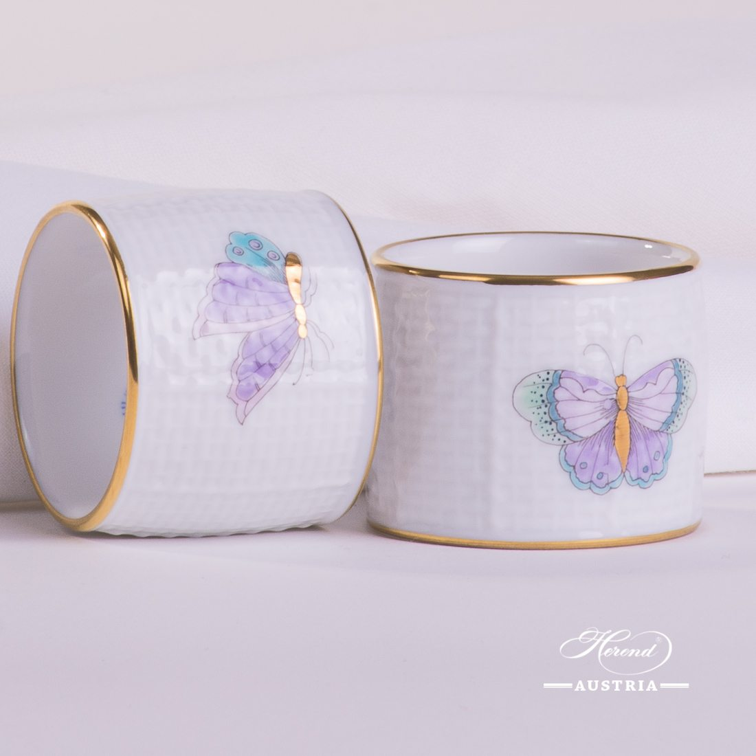 Royal Garden Turquoise - Napkin Ring - 2 pc