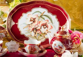 Orchid Tea Set - Herend Porcelain