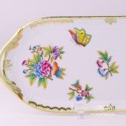 Victoria 436-0-00 VBO Sandwich Dish Herend porcelain