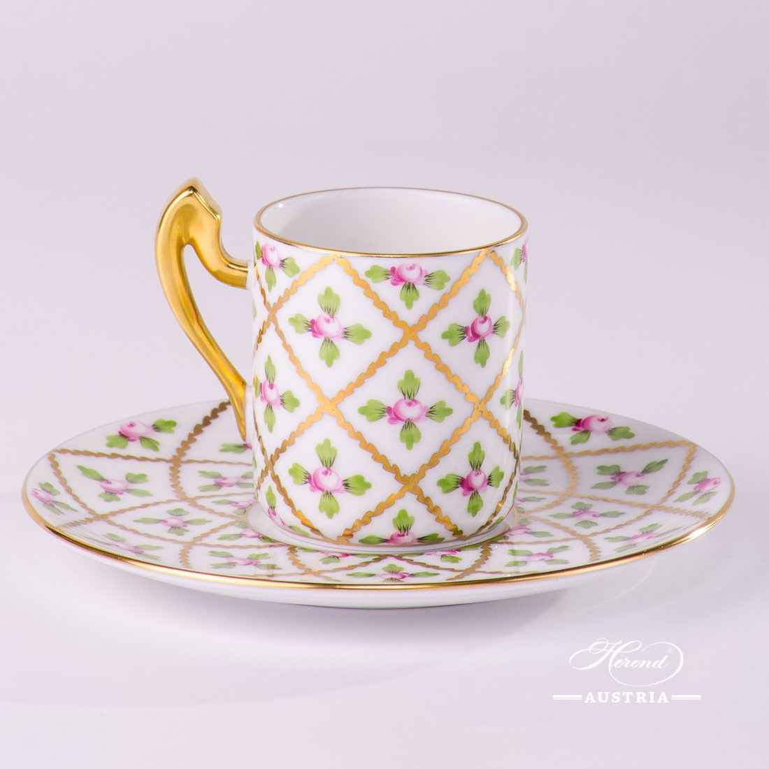 Sevres Roses - Coffee / EspressoCup