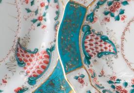 Tupini-TCA Dessert Plate - Herend-Porcelain