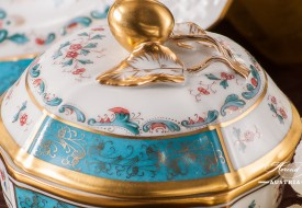 Tupini-TCA Sugar Basin - Herend-Porcelain