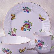 Victoria-A 1729-0-00 VA Mug Herend porcelain