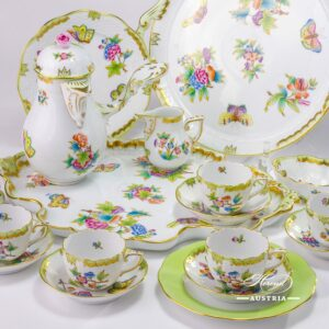 Queen Victoria - Coffee Set for6 Persons