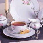 Vienna Rose Platinum 701-0-00 VR-PT Tea Set Herend porcelain