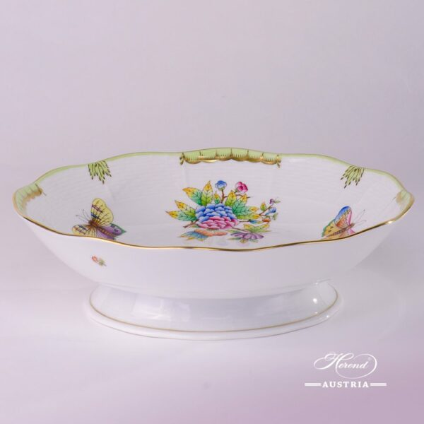 Fruit Bowl 325-0-00 VBO Queen Victoria design. Herend fine chinahand painted