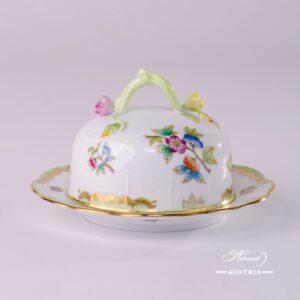 Victoria-393-0-02-VBO-Butter-Dish-Herend-Porcelain-10