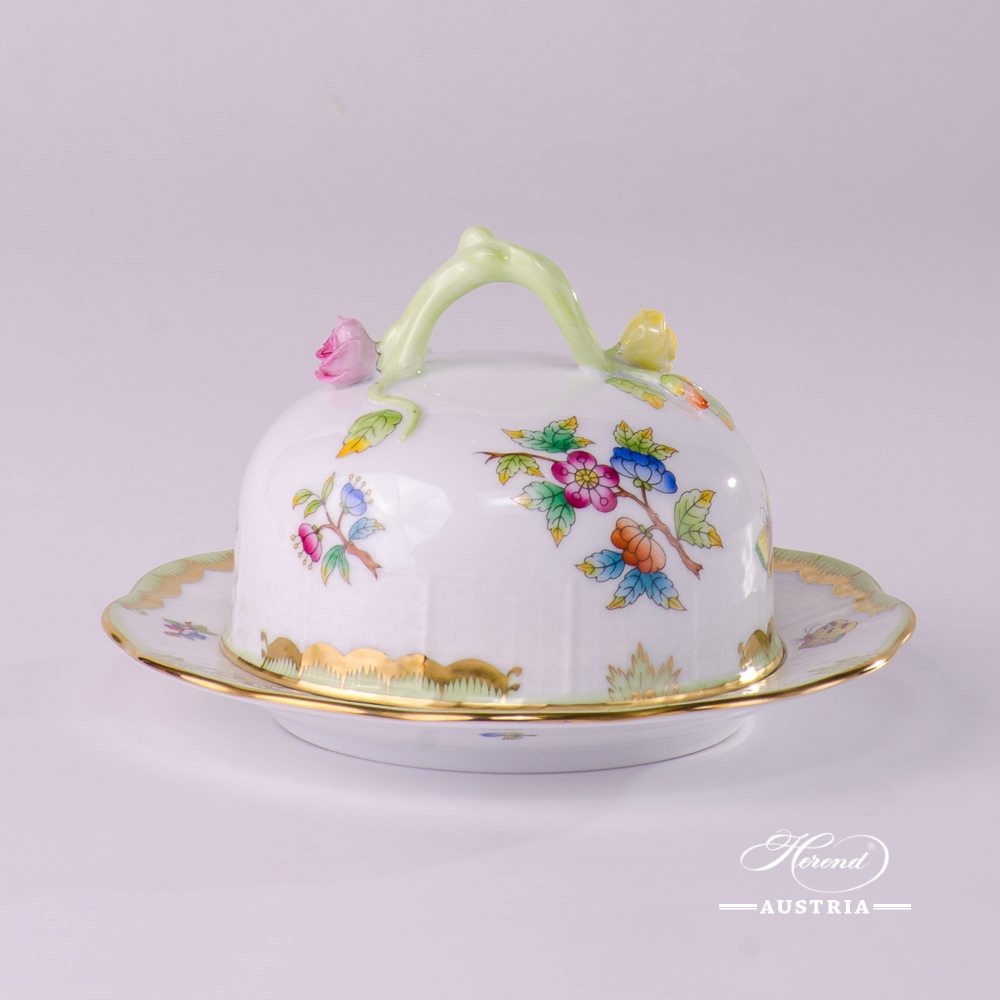 Queen Victoria - VBO Butter Dish - 393-0-02 VBO - Herend china