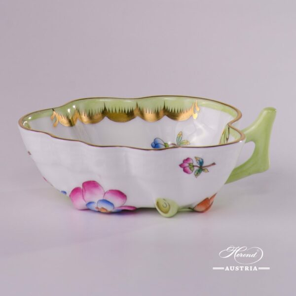 SugarBowl492-0-00 VBO Queen Victoria design. Herend porcelainhand painted. Tableware