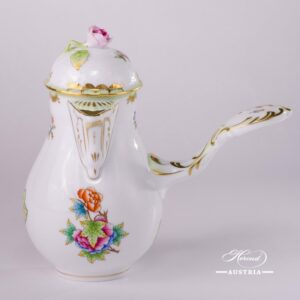 Victoria-634-0-09-VBO-Coffee-Pot-with-Rose-Knob-Herend-Porcelain-59