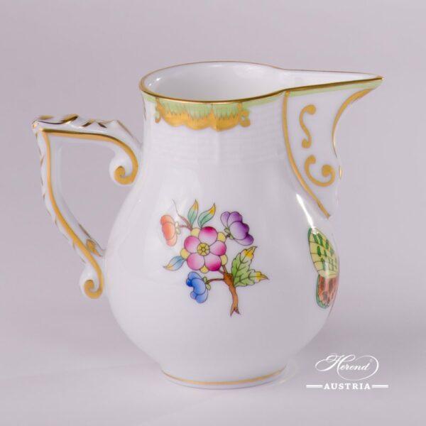 Milk Jug 658-0-00 VBO Queen Victoria design. Herend porcelainhand painted. Tableware