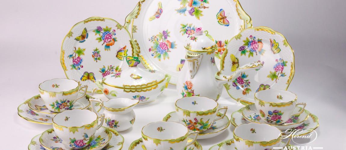 Victoria-VBO Tea Set - Herend Porcelain