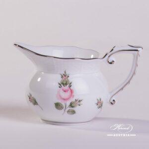 Vienna Rose Platinum 644-0-00 VR-PT Creamer Herend porcelain