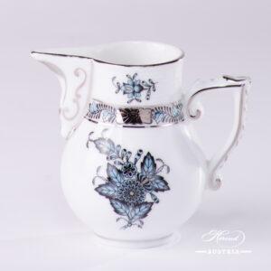 Apponyi Turquoise Milk Jug - 658-0-00 ATQ3-PT - Herend Porcelain