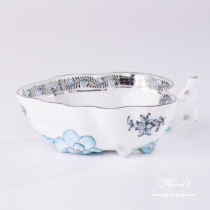 Apponyi Turquoise Sugar Bowl - 492-0-00 ATQ3-PT - Herend Porcelain