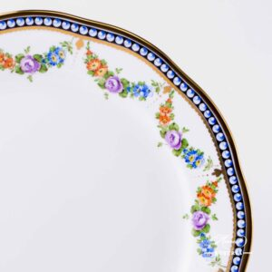 Pearls Dinner Plate - 20524-0-00 GPN - Herend Porcelain