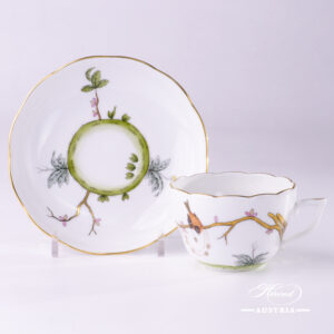 Dream Garden-REJA Tea Cup and Saucer - 20730-0-00 REJA - Herend Porcelain