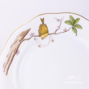 Dream Garden-REJAR Dessert Plate - 20517-0-00 REJAR - Herend Porcelain