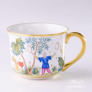 Oriental Showmen Mug - 2708-0-00 FODO - Herend Porcelain