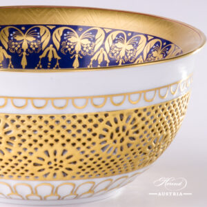 Cobalt and Gold - Special - Rococo Bowl