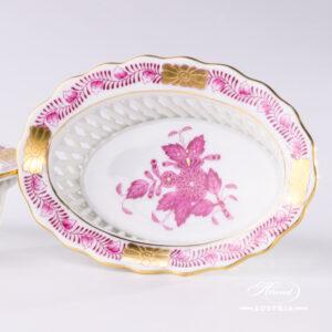Apponyi-Pink Basket - 7380-0-00 AP - Herend Porcelain