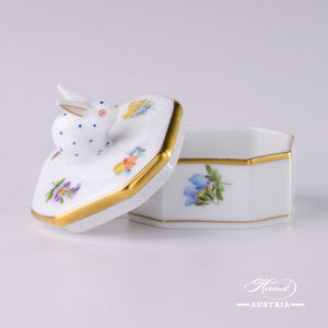 Thousand Flowers Fancy Box - 6105-0-25 MF - Herend Porcelain