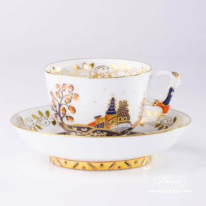 Miramare Tea Cup and Saucer - 3364-0-21 MR - Herend Porcelain