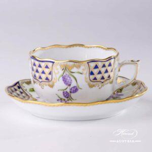 Mosaic and Flowers MTFC - Tea Cup