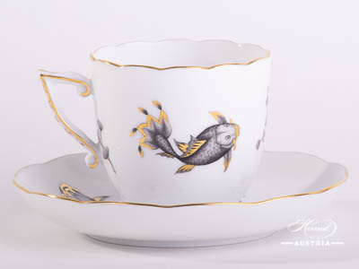 Coloured Fishes Herend Porcelain services – (COPO)