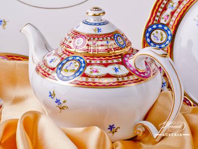 Silk Brocade – Eglantine Herend Porcelain sets – (EGAVT)