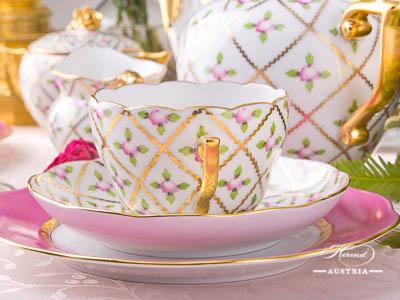 Sevres Roses Herend Porcelain Sets – (SPROG)