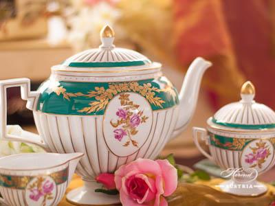 Belvedere Empire Herend Porcelain Tea Set – (BELVEDERE)