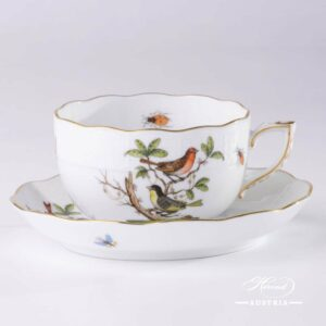 Rothschild Bird - Tea Cup and Saucer