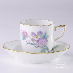 Royal Garden Turquoise - Coffee Cup