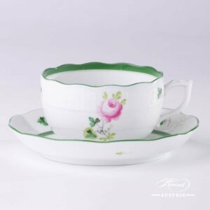 Vienna Rose - Tea Cup and Saucer