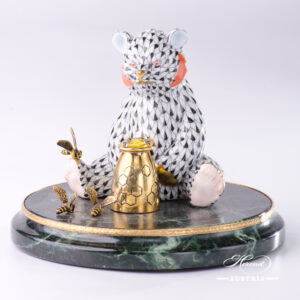 Black Fish Scale - Jewelled Bear