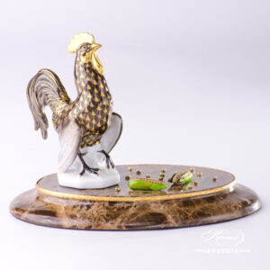 Jewelled Rooster - Gold Fish Scale