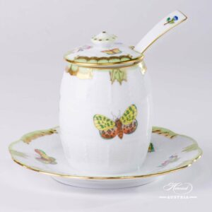 Queen Victoria - Mustard Pot w. Spoon