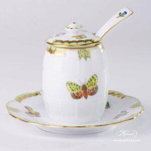 Queen Victoria - Mustard Pot w. Spoon