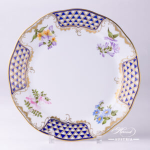 Mosaic and Flowers MTFC - Dinner Plate