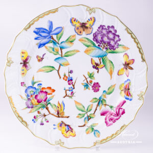Old Queen VICTORIA - Big Serving Plate
